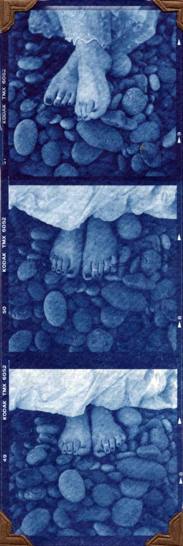 kristeen feet triptic