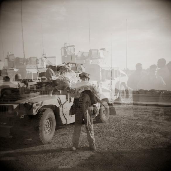 Memories - Fallujah, Iraq 2006 by Katariina FAgering