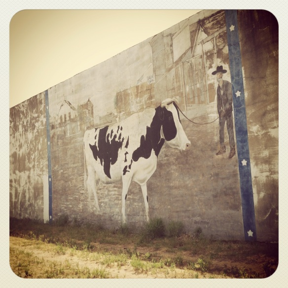 the cow I saw by Katariina Fagering