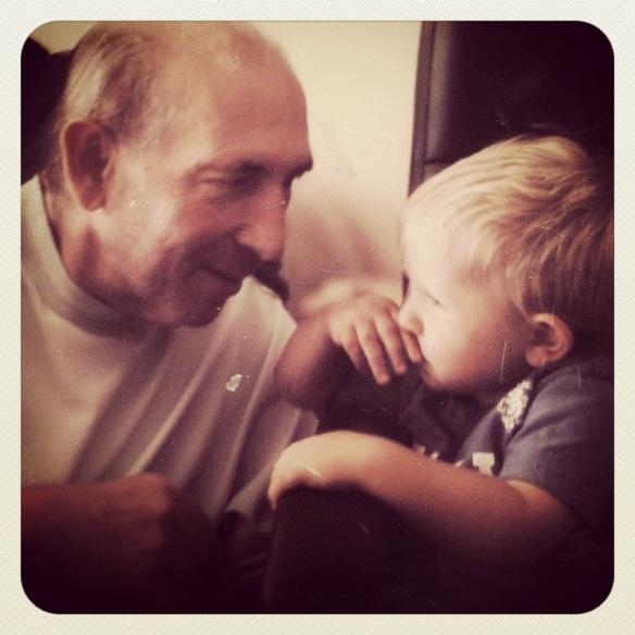 daddy and Finn