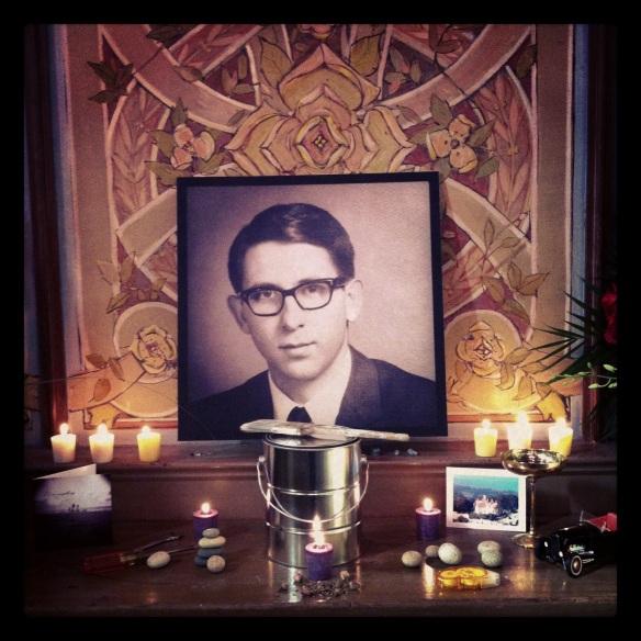 Paul Anderson's Memorial altar 2