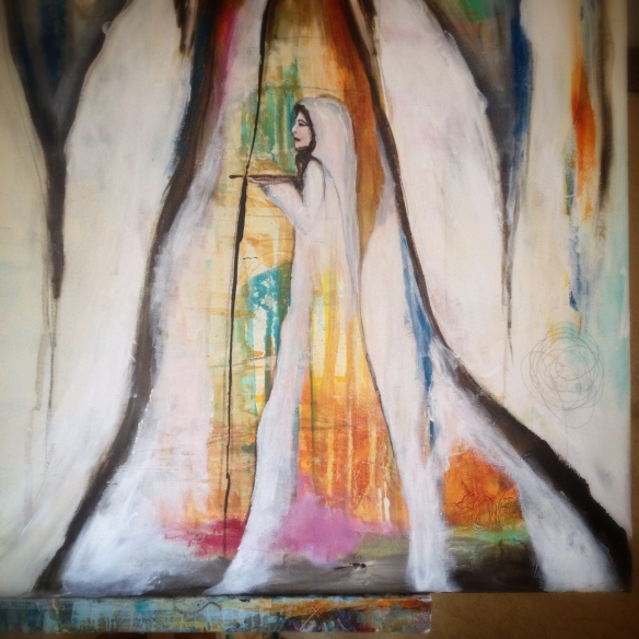 Woman within offering by Katariina Fagering