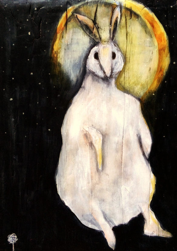 rabbit-and-moon